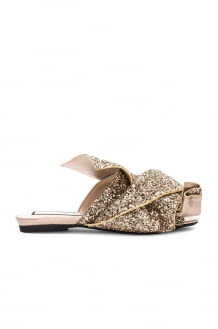 No. 21 Bow Glitter Slide