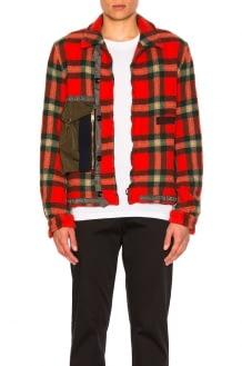 Kolor Zip Pocket Flannel Jacket