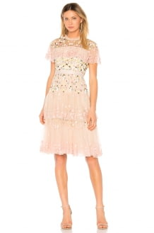 Needle & Thread Tiered Anglais Mini Dress