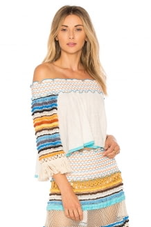 CHIO Off the Shoulder Top