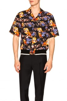 3.1 Phillip Lim Souvenir Surreal Animal Print Shirt