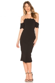 ASILIO Dark Nights Strapless Dress