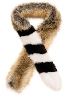 Off-White Fox Scarf