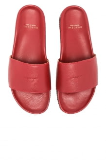 Buscemi Classic Leather Slide Sandals