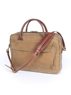 Wood&Faulk Wood&Faulk Folio Briefcase High Desert Sage