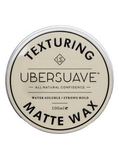 Ubersuave Ubersuave 2.0 Texturing Matte Hair Wax Pomade 100ml