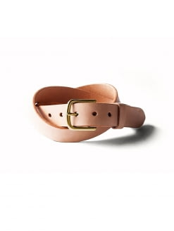 Tanner Goods Tanner Goods Classic Belt Natural Brass