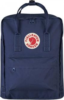 FJALLRAVEN Fjallraven Kanken Classic Backpack Royal Blue Pinstripe Pattern