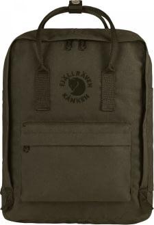 FJALLRAVEN Fjallraven Re-Kanken Classic Backpack Dark Olive