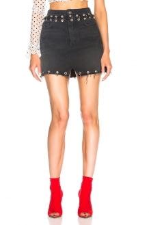 GRLFRND Milla High Rise Denim Skirt