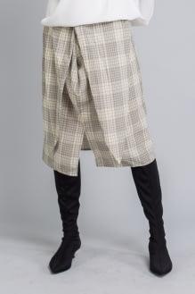Shopatvelvet Tartan Ty Skirt