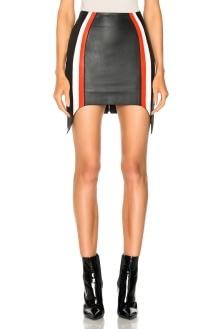 Mugler Soft Nappa Leather Skirt