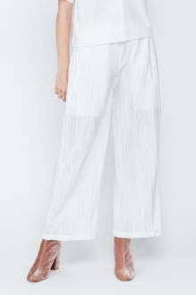 Shopatvelvet White Algae Pants