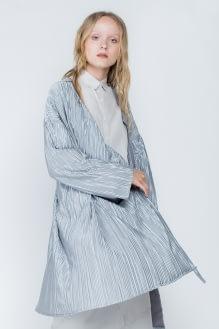 Shopatvelvet Silver Algae Long Cardigan