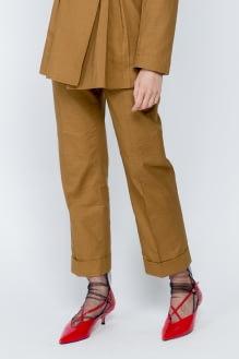 Shopatvelvet Brown Foto Pants