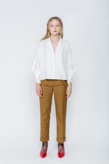 Shopatvelvet White Trope Shirt