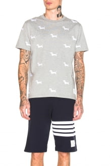 Thom Browne Embroidered Hector Tee