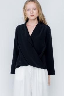 Shopatvelvet Black Whitney Top