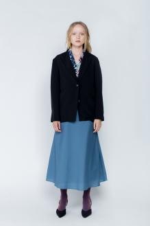 Shopatvelvet Black Judith Blazer