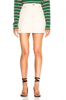 ALEXACHUNG Patch Pocket Mini Skirt