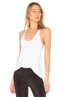 Track & Bliss Scalloped Studded Tank