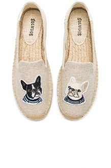 Soludos Teddy & Gigi Smoking Slipper