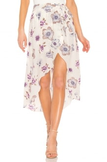 J.O.A. Wrap Skirt