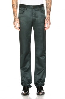 CALVIN KLEIN 205W39NYC Satin Uniform Pants