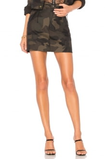 by the way. Isabela Camo Mini Skirt