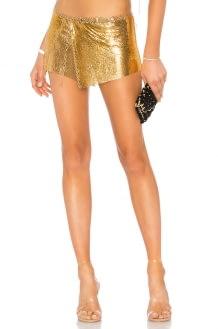 Ettika Shimmer Skirt