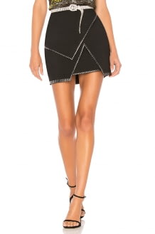 by the way. Carly Studded Mini Skirt