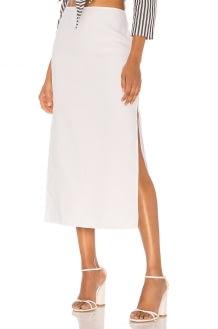 Theory Slit Skirt