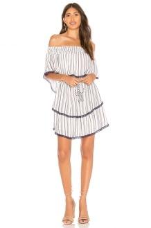 The Jetset Diaries Aries Stripe Mini Dress
