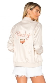 Privacy Please x REVOLVE Peachy Bomber