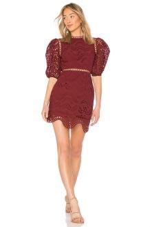 Zimmermann Jaya Wave Mini Dress