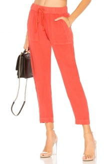 ENZA COSTA French Linen Easy Pant