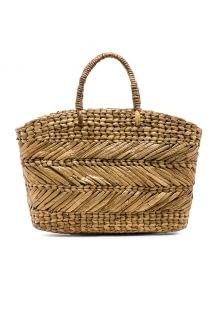 ellen & james Corfu Beach Basket Bag