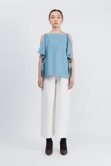 Shopatvelvet PT-02 Blue Top