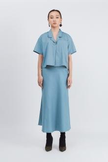 Shopatvelvet PT-018 Blue Top