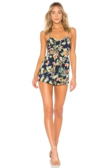 by the way. Myra Front Tie Romper