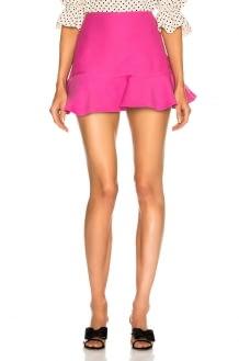 Valentino Flared Hem Mini Skirt