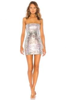 X by NBD Sabrina Mini Dress