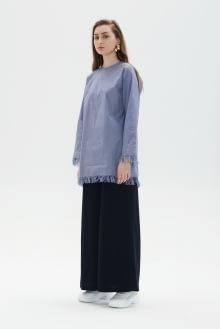 Shopatvelvet Blue East Tunic Jacket