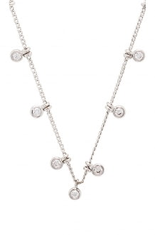 Melanie Auld Floating Disc Necklace