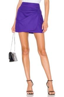 No. 21 Ruched Mini Skirt