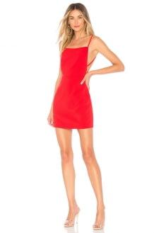 About Us Sabrina Lace Up Back Mini Dress