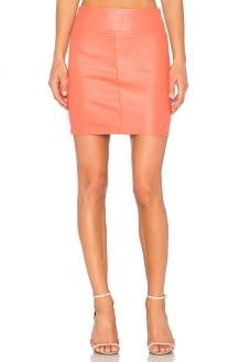 MLML Contrast Side Zip Skirt
