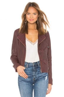 June Vintage Leather Jacket