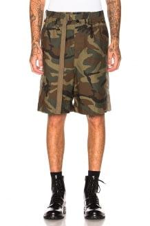 Sacai Camouflage Shorts