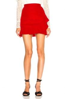 Self Portrait Lace Fill Mini Skirt